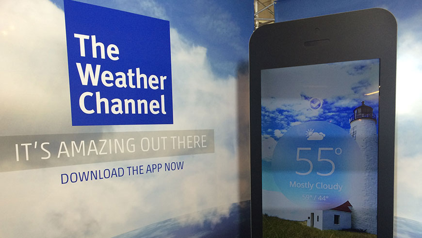 The Weather Channel App Experience